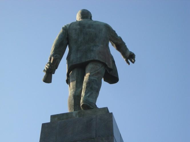 Lenin waakt over Sevastopol