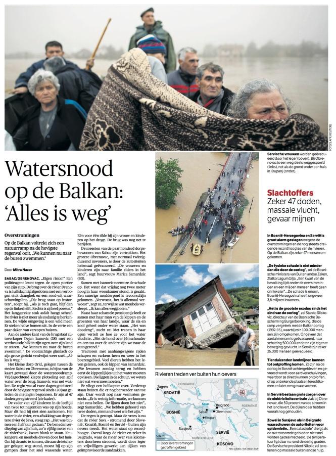 NRC Watersnood Servie 20 mei 14